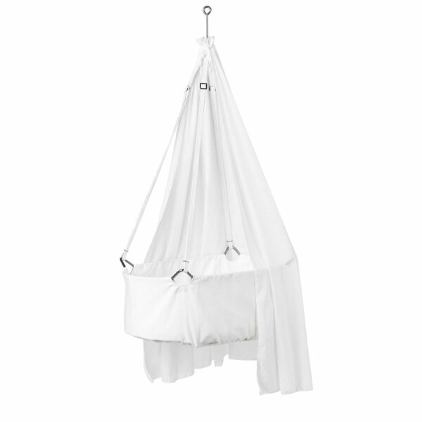 Leander - Canopy for Hanging Cradle - White