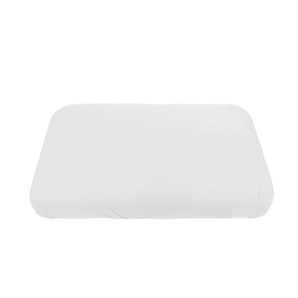 Spannbettlaken aus Bio-Baumwolle – Baby – Weiß – 70 x 120 cm