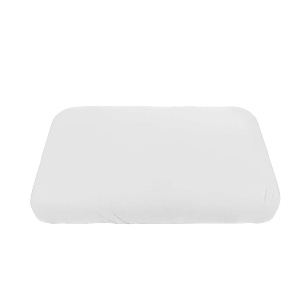 Sebra – Jersey Sheet – Baby – White – 70 x 120 cm