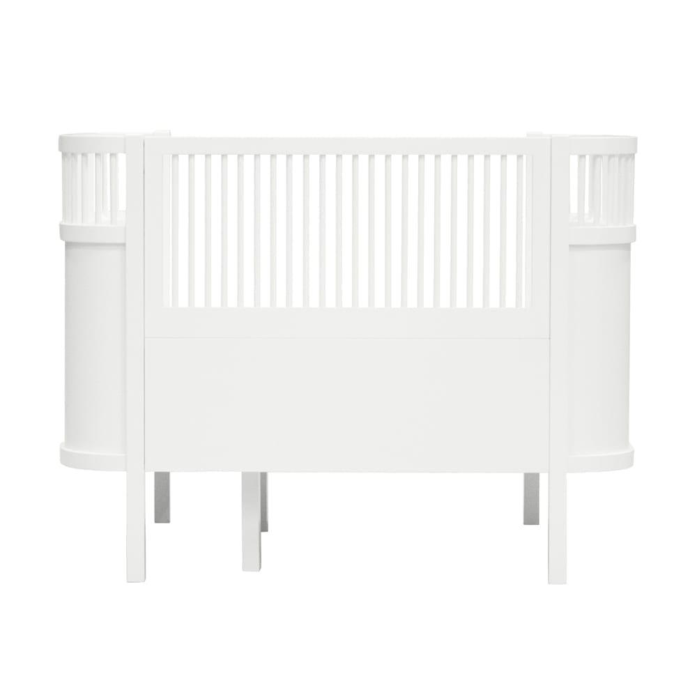 Sebra – Babybett & Juniorbett – The Sebra Bed – Weiß
