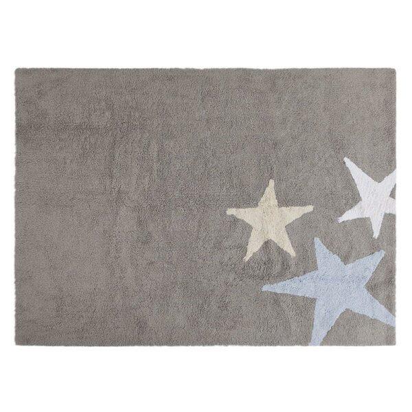 Lorena Canals - Washable Rug - Tres Estrellas - Grey/Blue