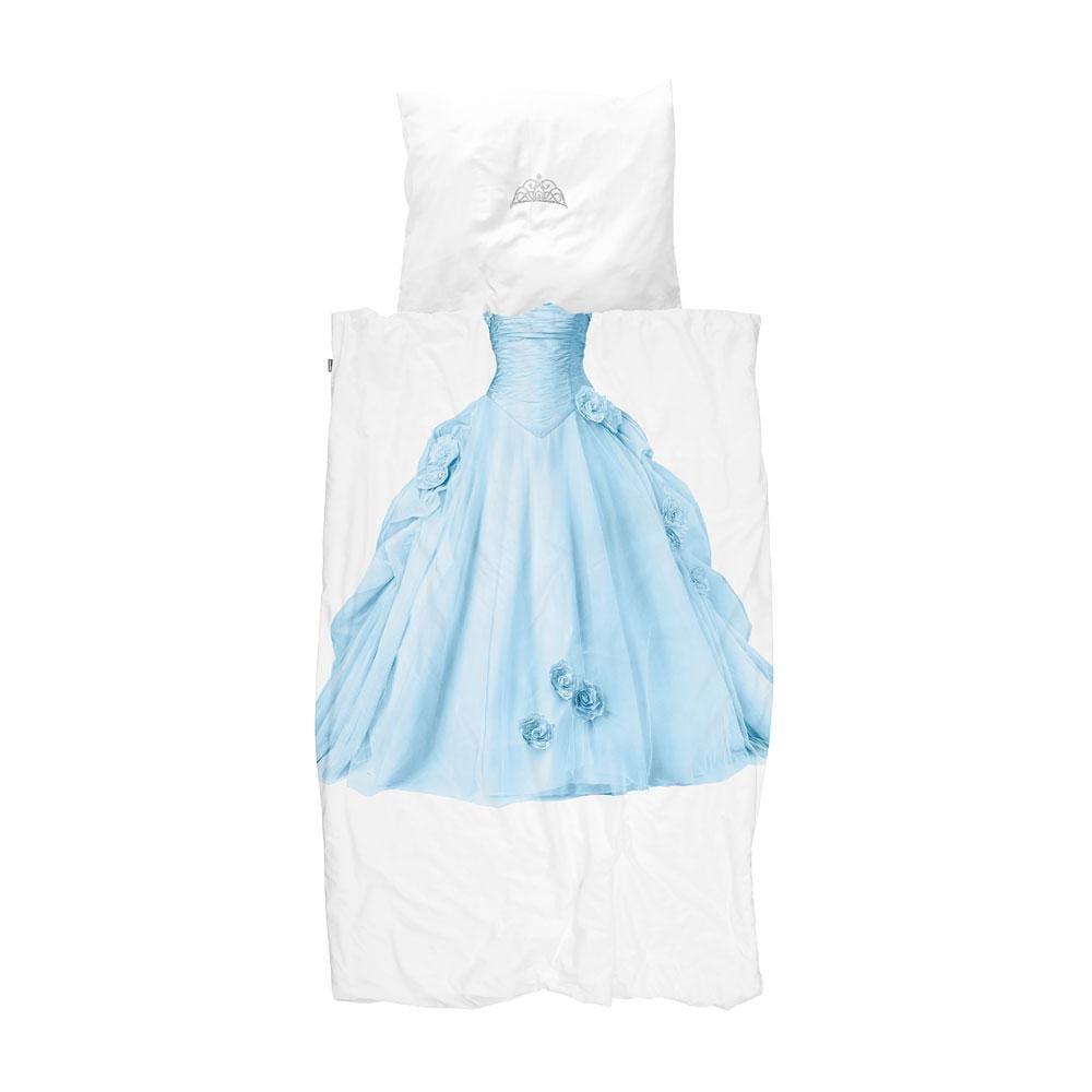 Snurk – Kinderbettwäsche – Prinzessin Blau