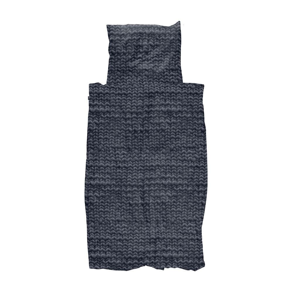 Duvet Cover Set – Twirre – Charcoal Black