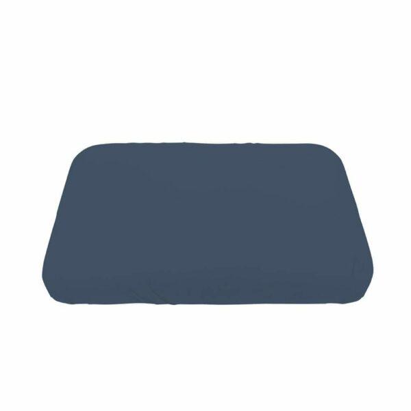 Sebra - Jersey Sheet - Baby - royal blue - 70 x 120 cm