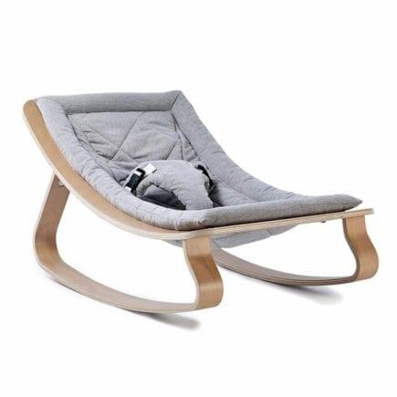 Bouncer LEVO beech seating gentle grey