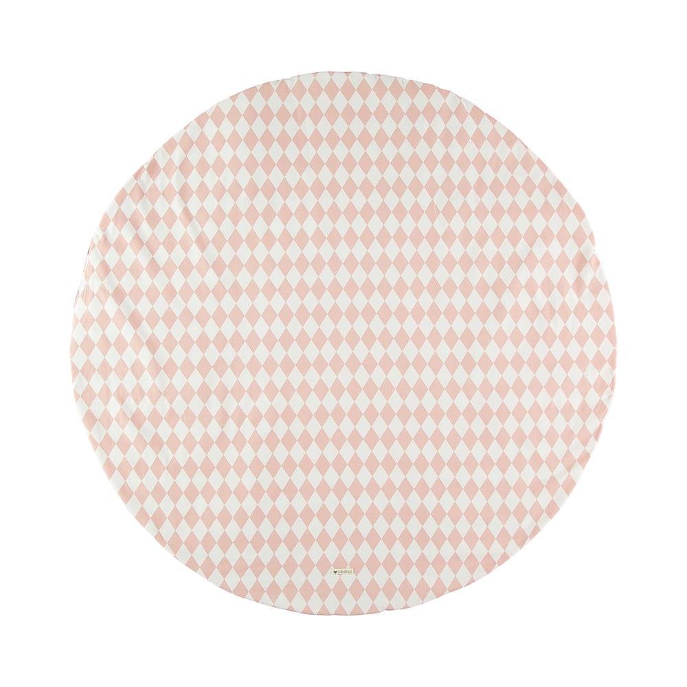 Speelmat – Apache – Diamonds Roze – 145 cm Ø