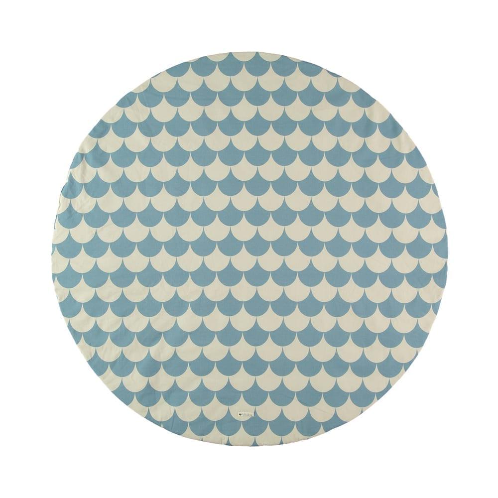 Play Mat – Apache – Scales Blue – 105 cm Ø