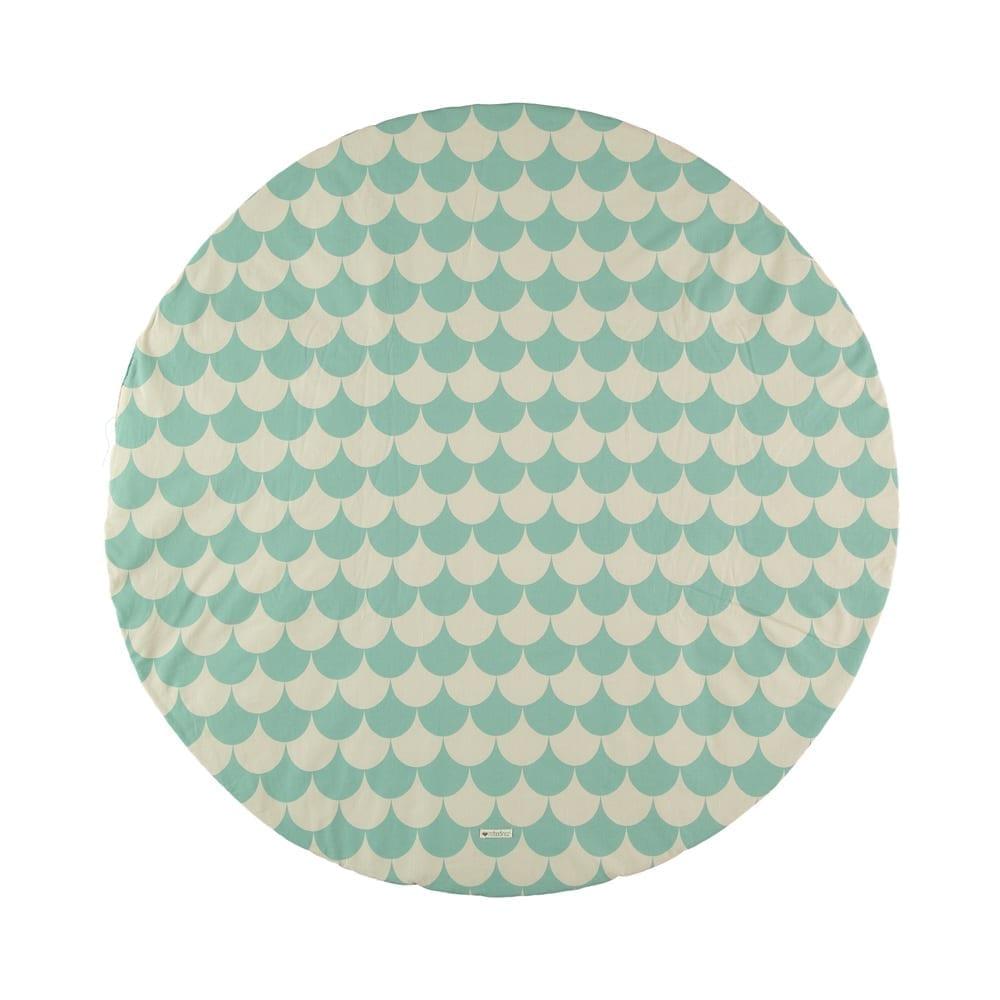 Speelmat – Apache – Scales Groen – 105 cm Ø