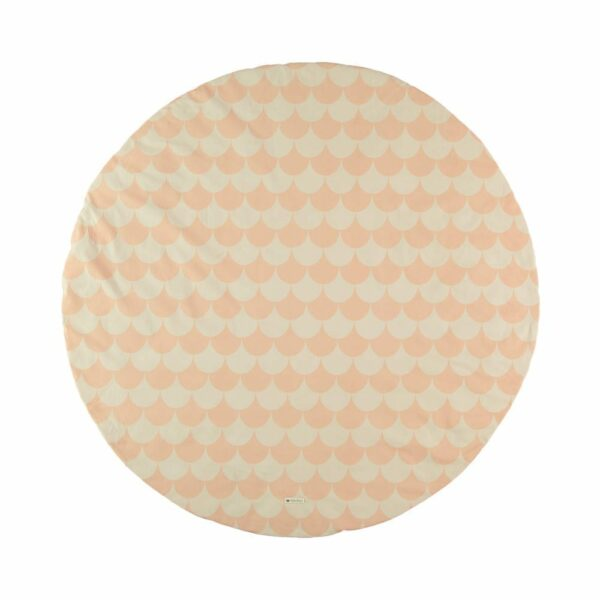 Nobodinoz Play Mat Scales pink