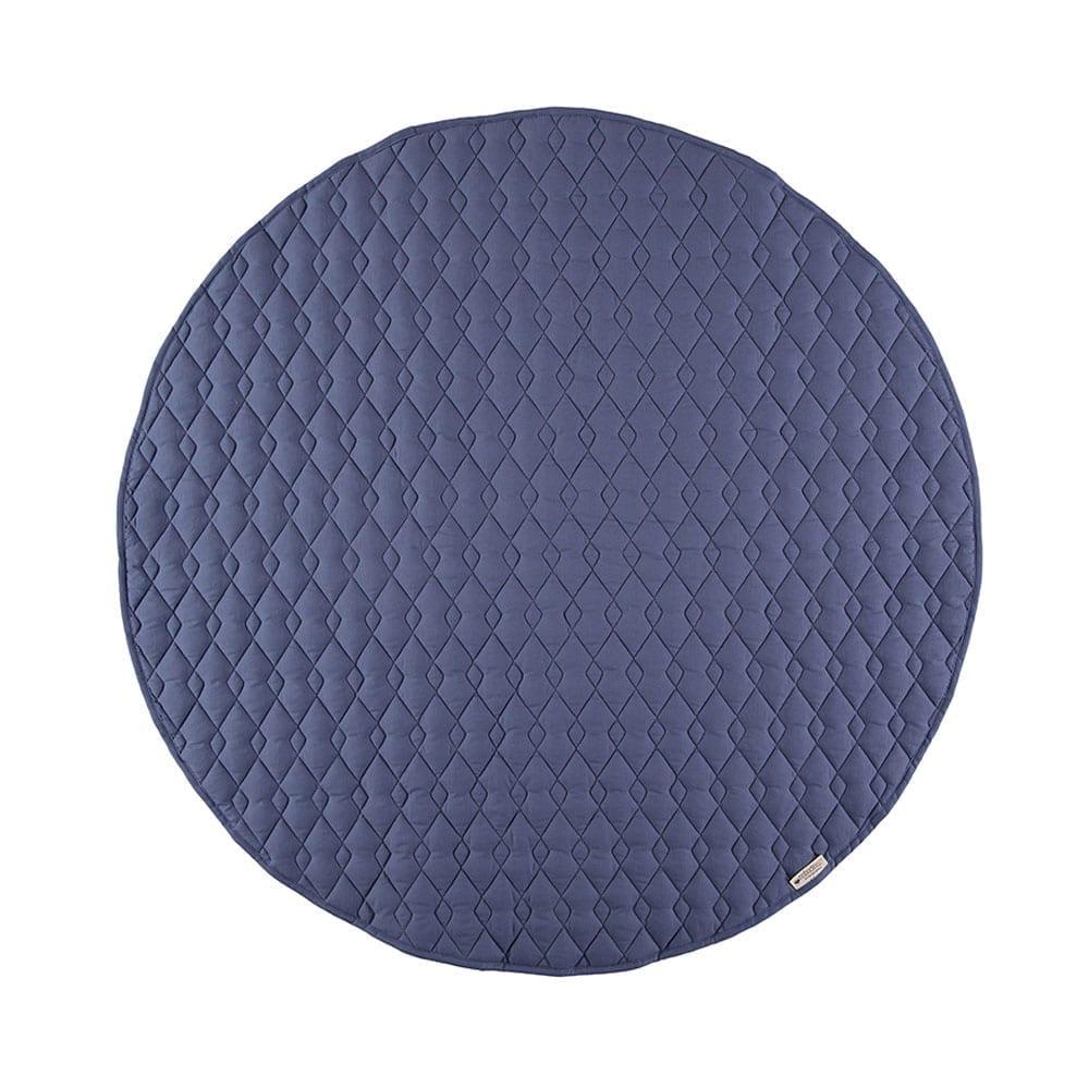 Nobodinoz – Runde Spielmatte – Kiowa – Aegean Blue – Ø 105 cm