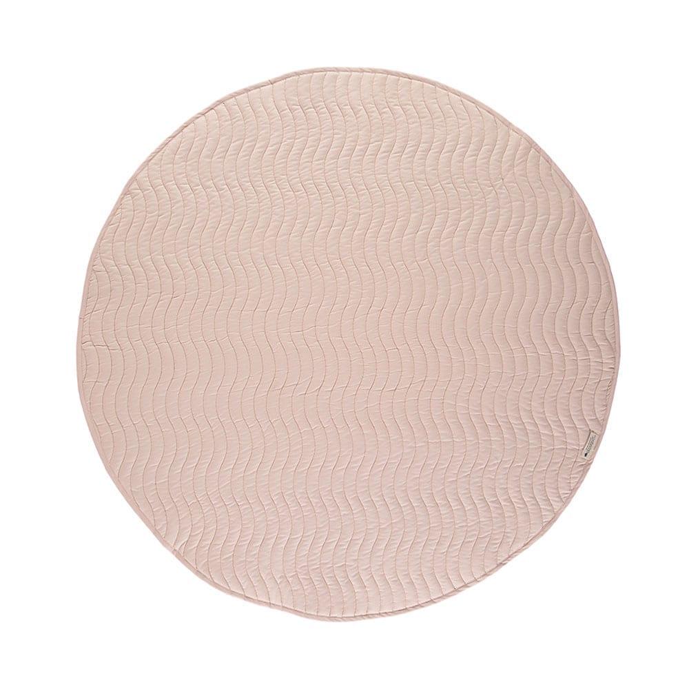 Nobodinoz – Runde Spielmatte – Kiowa – Bloom Pink – Ø 105 cm