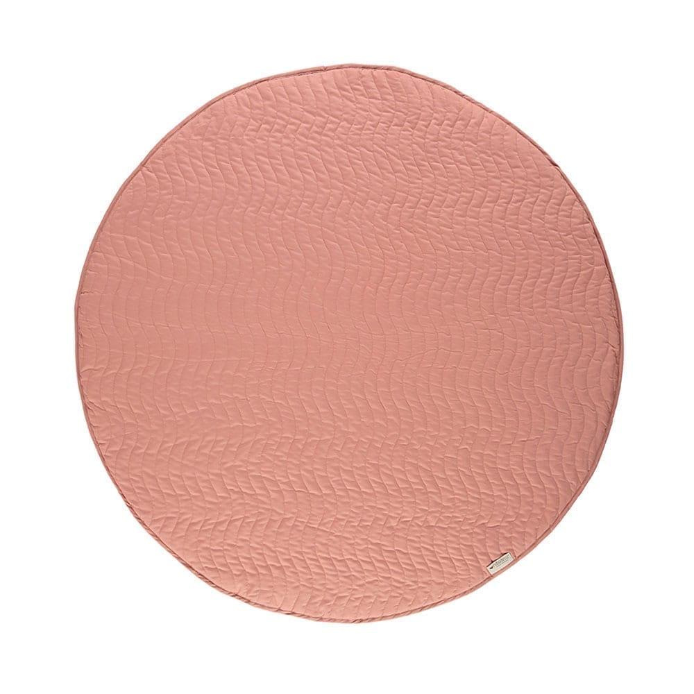 Nobodinoz – Round Play Mat – Kiowa – Dolcevita Pink – Ø 105 cm
