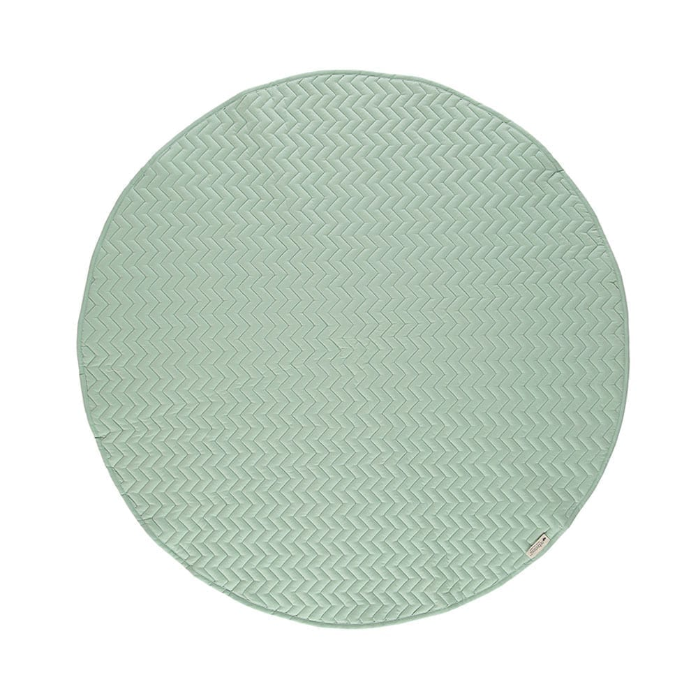 Round Play Mat – Kiowa- Provence Green – Ø 105 cm