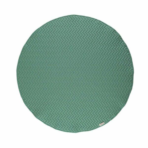 Nobodinoz Round Play Mat Kiowa siesta green