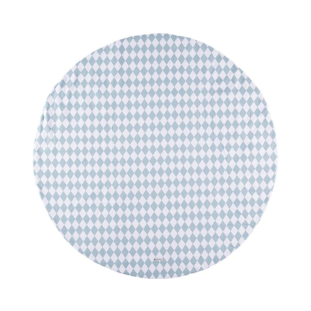 Speelmat – Apache – Diamonds Blauw – 145 cm Ø