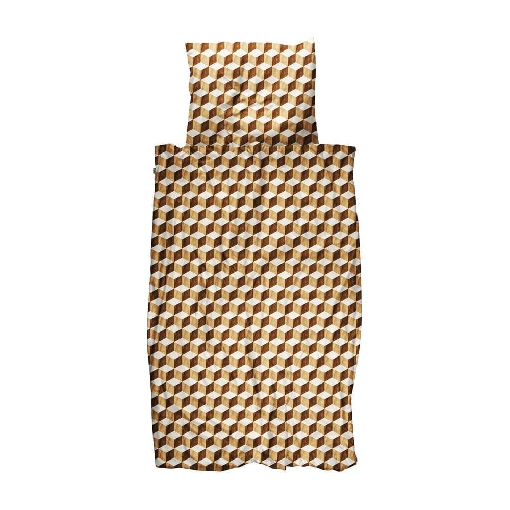 Snurk – Duvet Cover Set – Wooden Cubes