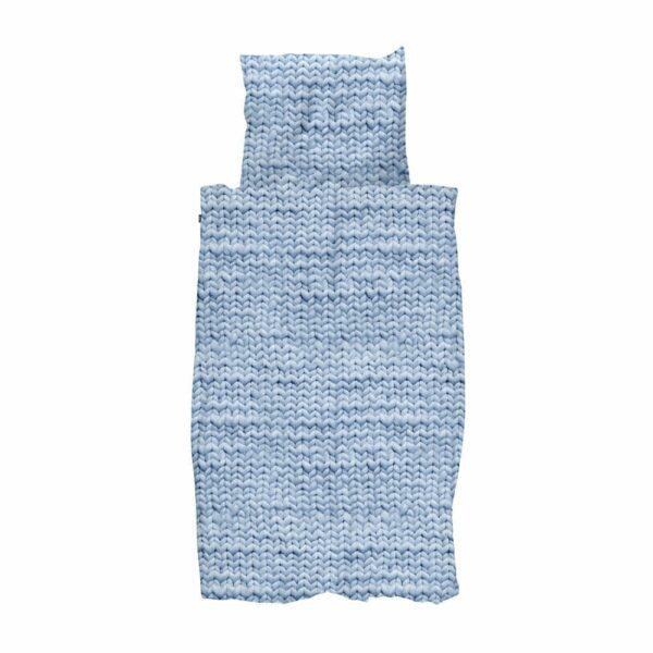 SNURK Duvet Cover Set - Twirre - Arctic Blue