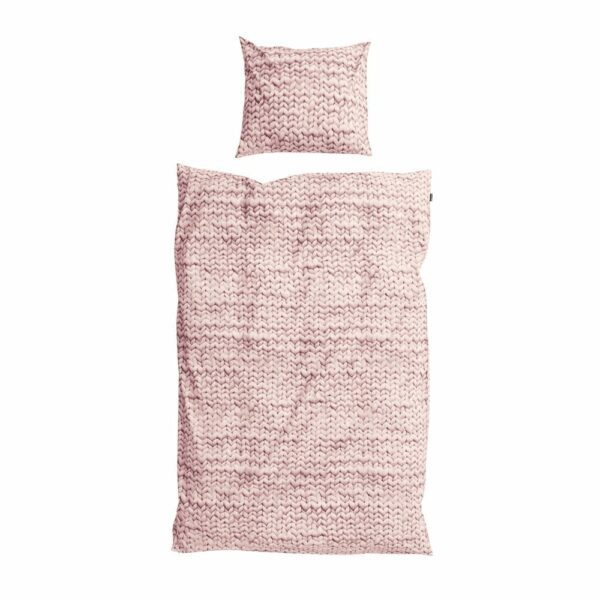 SNURK Duvet Cover Set - Twirre - Dusty Pink