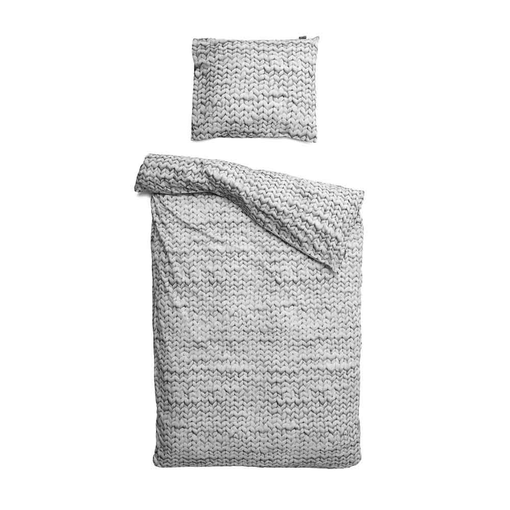 Duvet Cover Set – Twirre – Grey