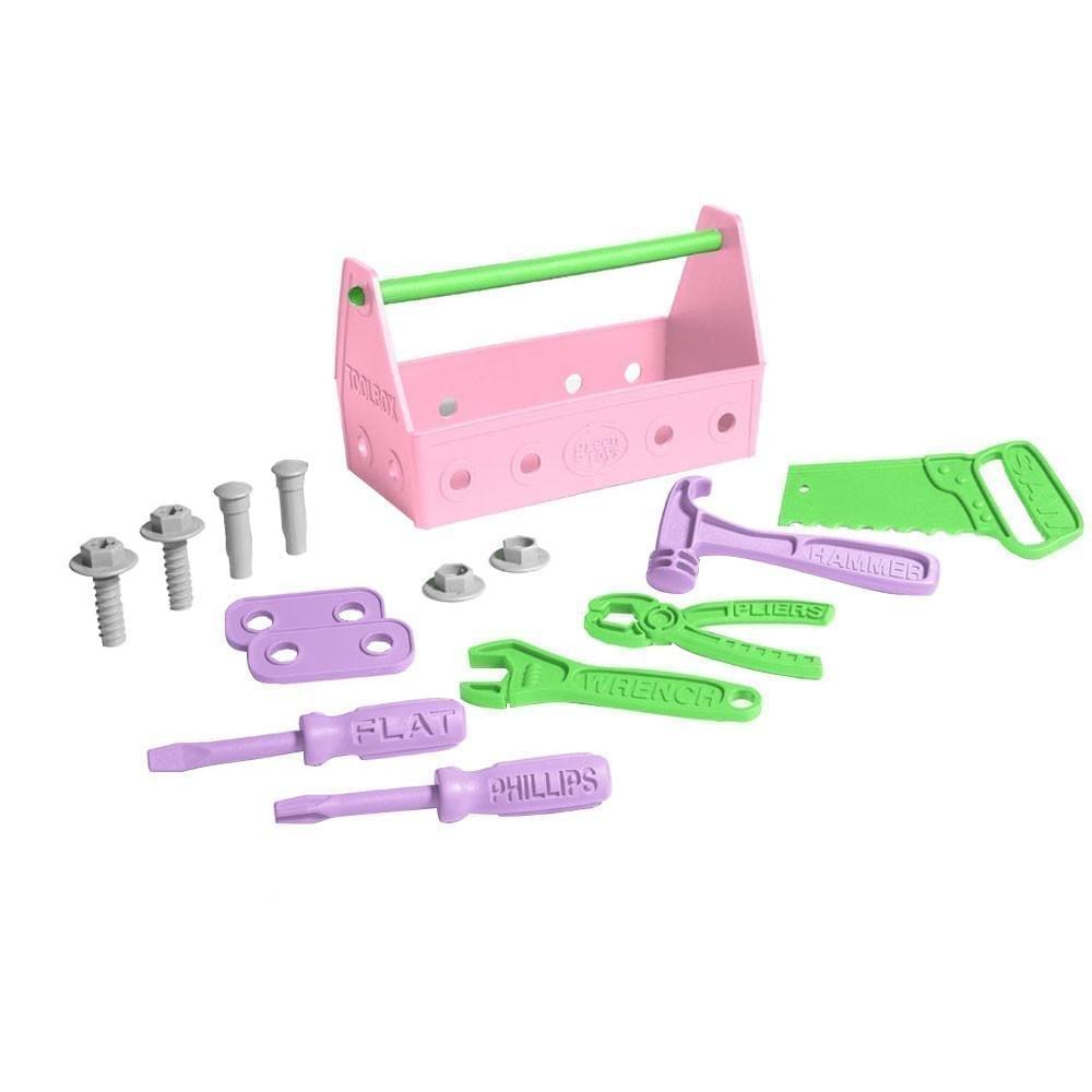 Green Toys – Tools Set – Pink