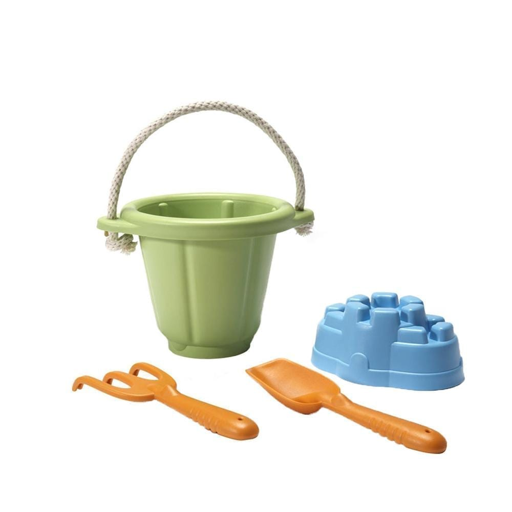 Green Toys – Sandspiel Set 4 tlg. – Grün