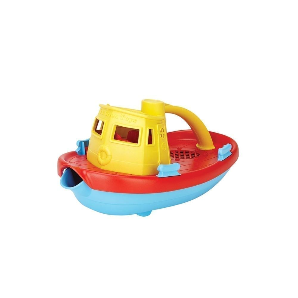 Green Toys – Dampfschiff – Gelber Griff
