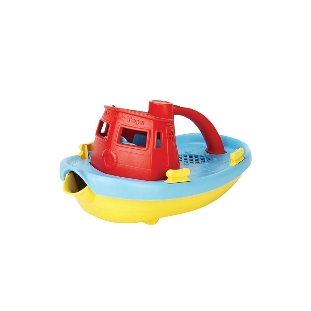 Green Toys – Sleepboot – Rode Handgreep