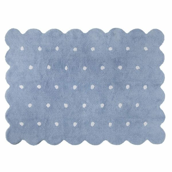 Lorena Canals - Washable Rug - Biscuit - Blue