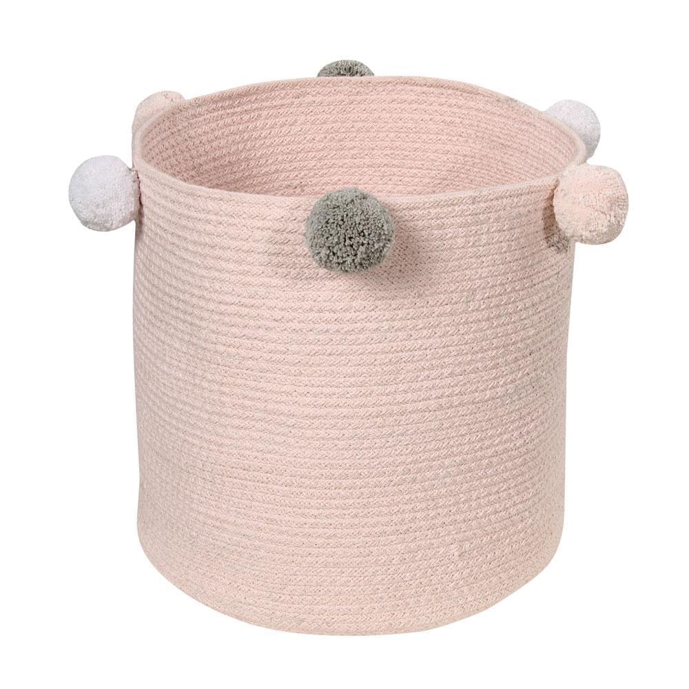 Lorena Canals – Aufbewahrungskorb – Bubbly – Pink – 30 x 30 cm