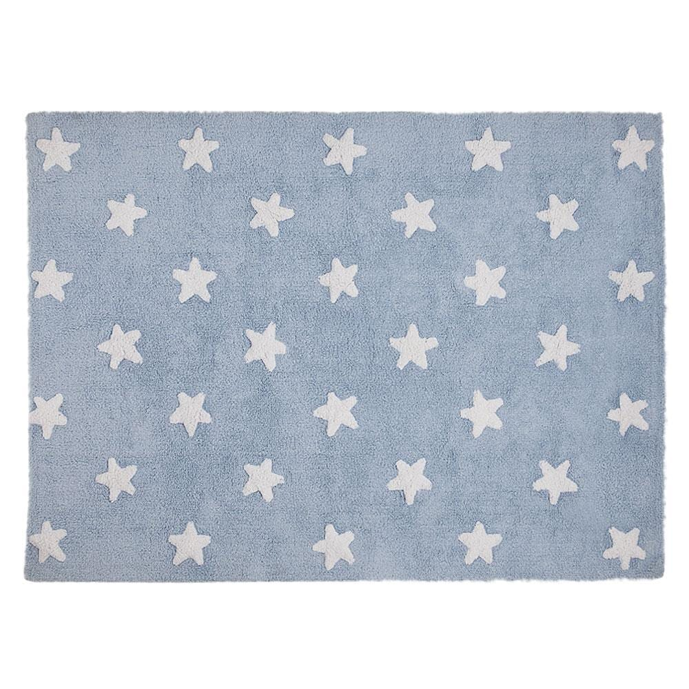 Lorena Canals - Washable Rug - Stars - Blue/White Stars