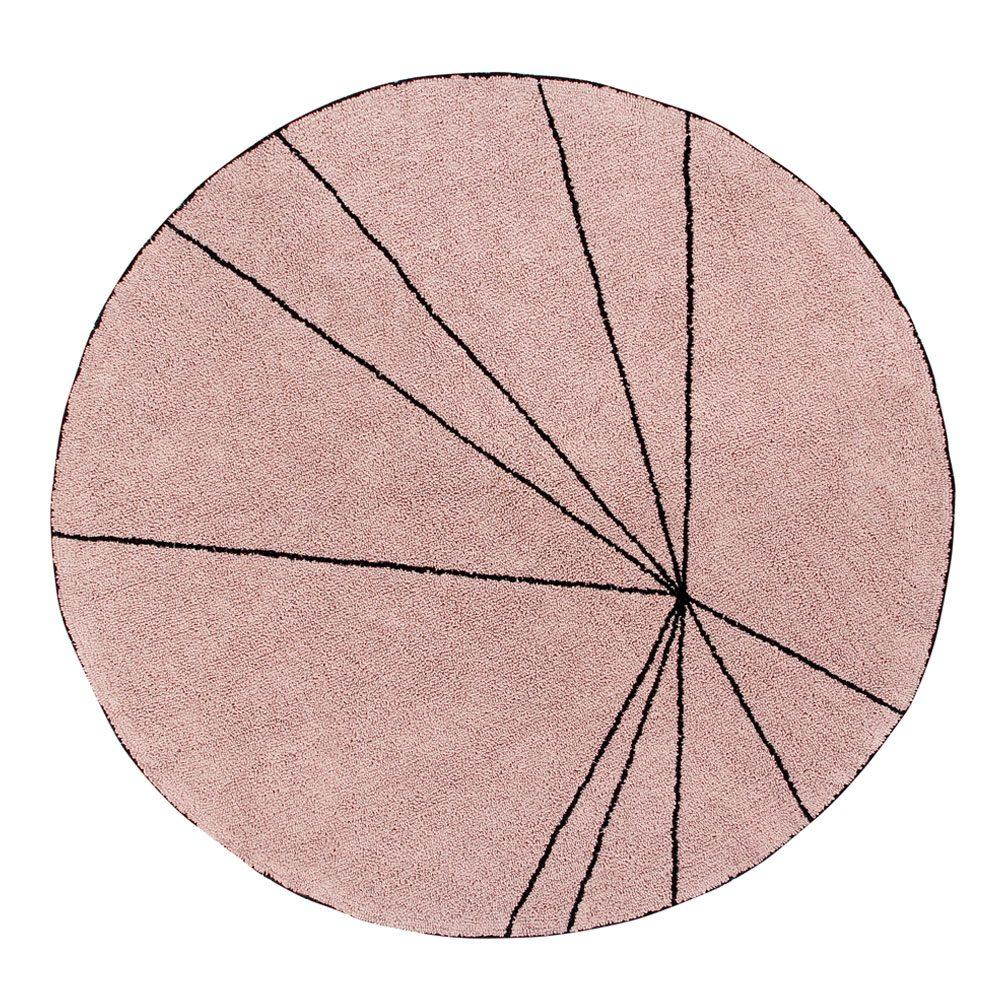 Lorena Canals – Round Rug – Trace – Vintage Nude – ø 160 cm