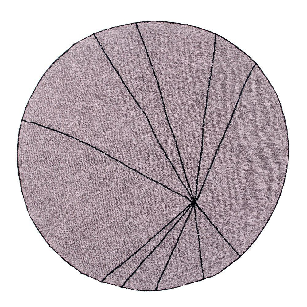 Lorena Canals – Round Rug – Trace – Wood Rose – ø 160 cm