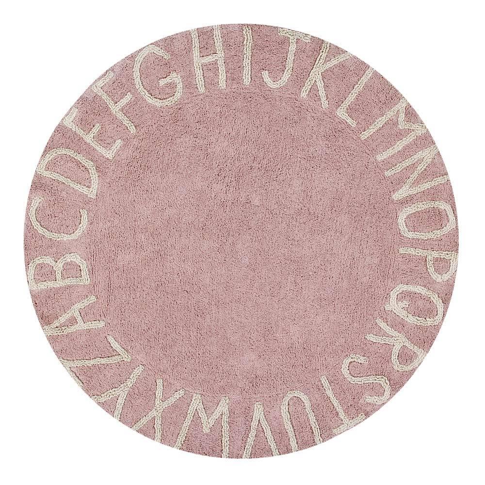 Round Rug – ABC – Vintage Nude – ø 150 cm