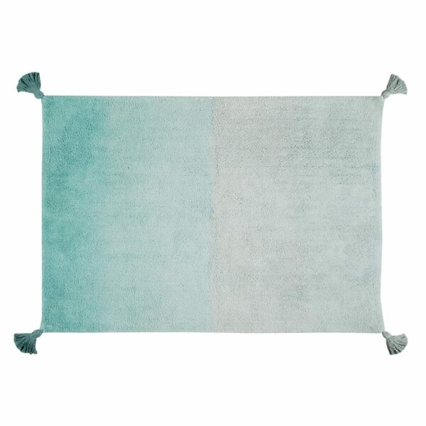 Washable Rug - Degrade Ombre - Ombre/Emerald - 120 x 160 cm