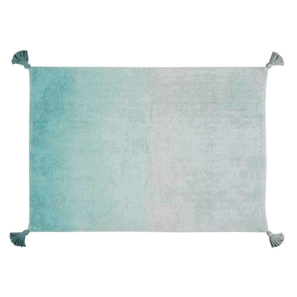 Lorena Canals – Retro Rug – Degrade Ombre – Ombre/Emerald – 120 x 160 cm