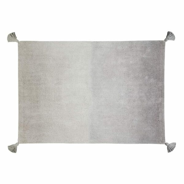 Washable Rug - Degrade Ombre - Grey - 120 x 160 cm