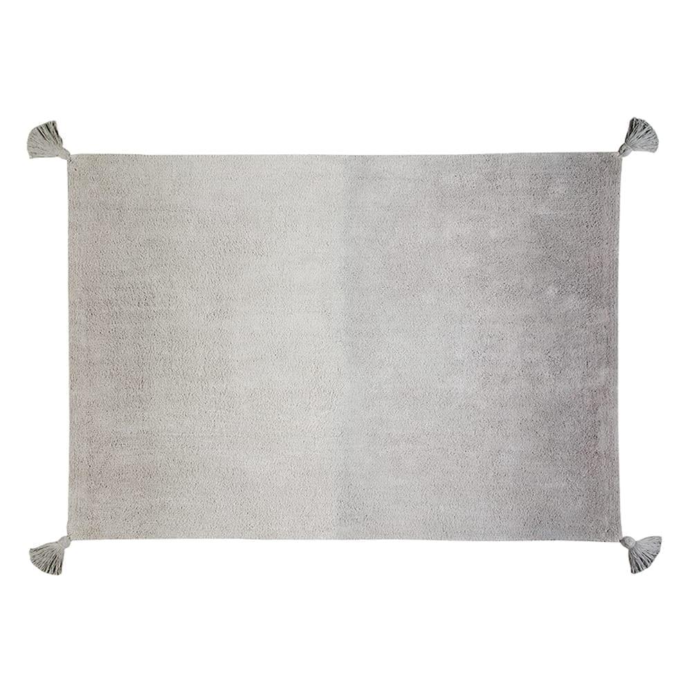 Retro Rug – Degrade Ombre – Grey/Dark Grey – 120 x 160 cm