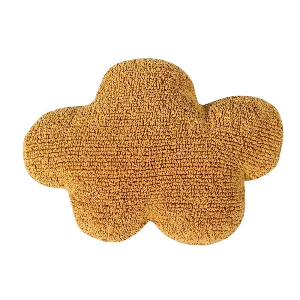 Cloud Cushion – Mustard – 40 x 50 cm