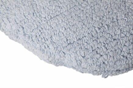 Lorena Canals - Washable Cushion - Big Dot - Blue - ø 50 cm