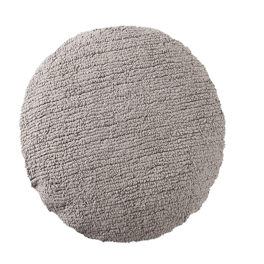 Lorena Canals - Washable Cushion - Big Dot - Grey - ø 50 cm