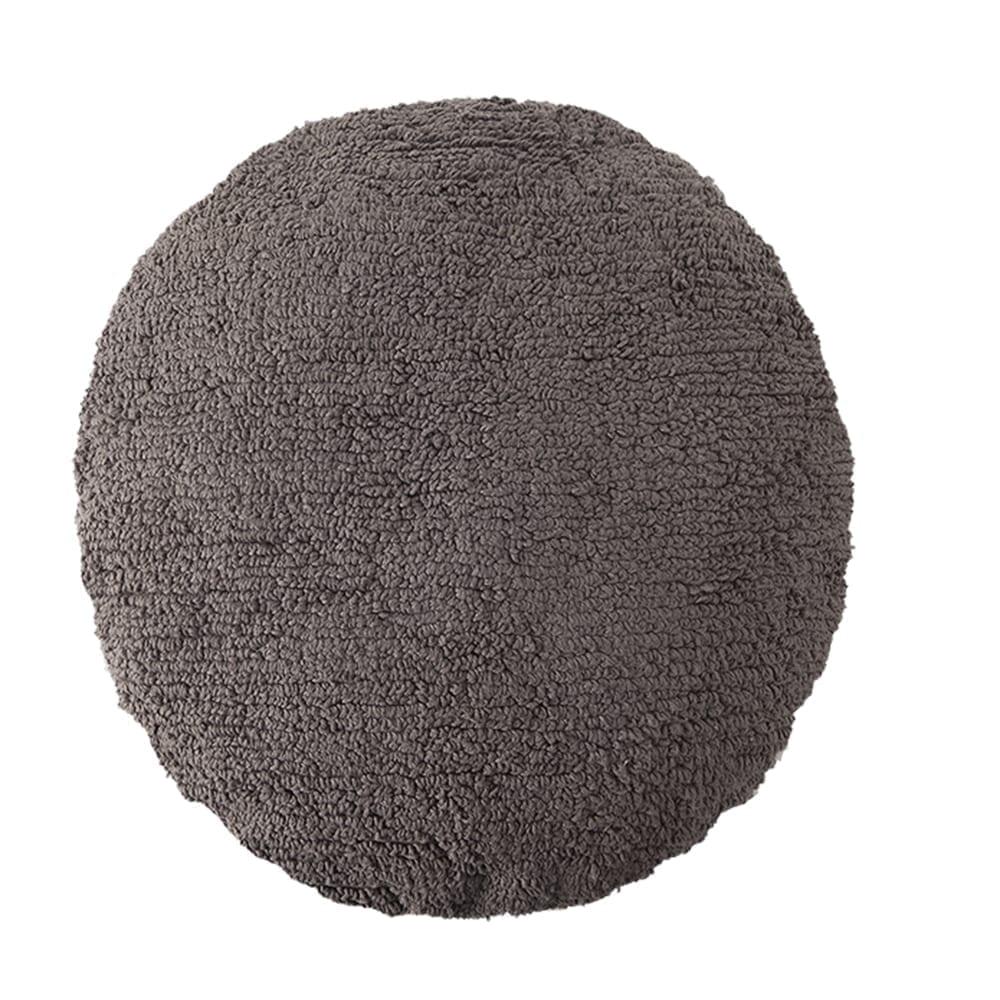 Lorena Canals - Washable Cushion - Big Dot - Elephant Grey - ø 50 cm