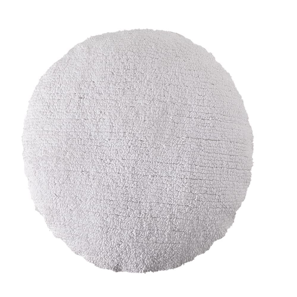Lorena Canals - Washable Cushion - Big Dot - White - ø 50 cm