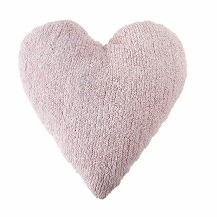 Lorena Canals - Heart Cushion - Pink - 47 x 50 cm