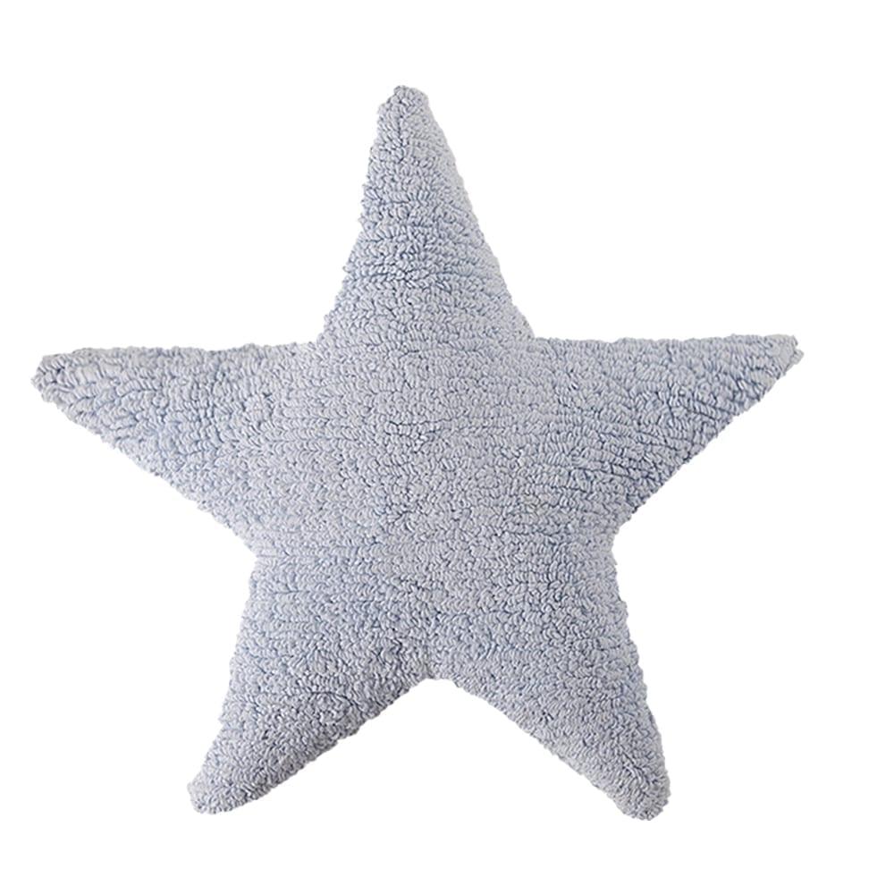 Lorena Canals - Star Cushion - Blue - 54 x 54 cm