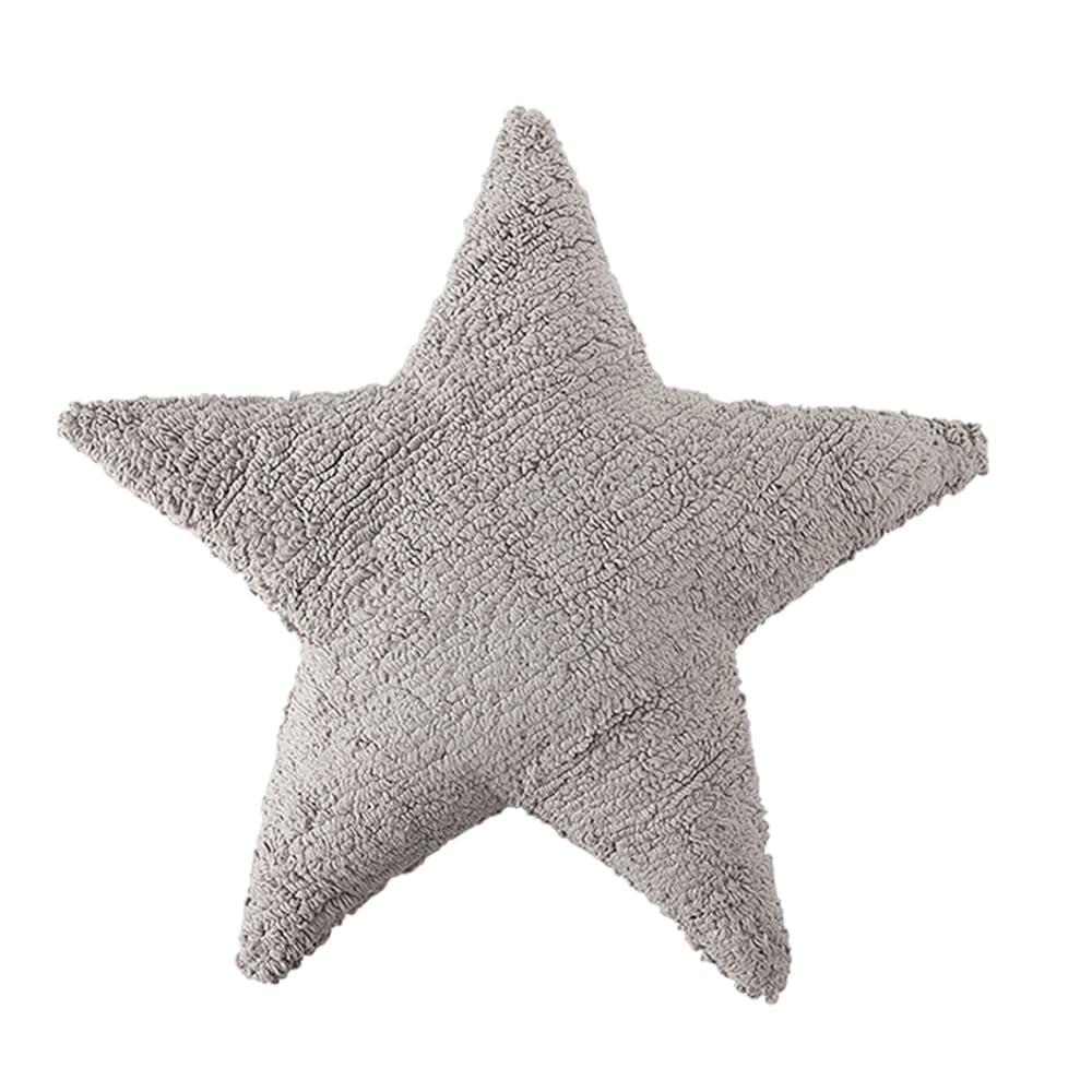Lorena Canals - Star Cushion - Grey - 54 x 54 cm
