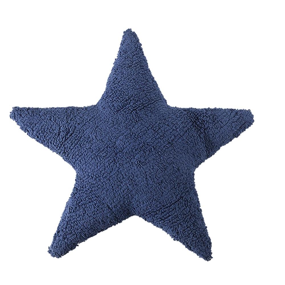 Lorena Canals - Star Cushion - Marine - 54 x 54 cm