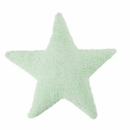 Lorena Canals - Star Cushion - Mint - 54 x 54 cm