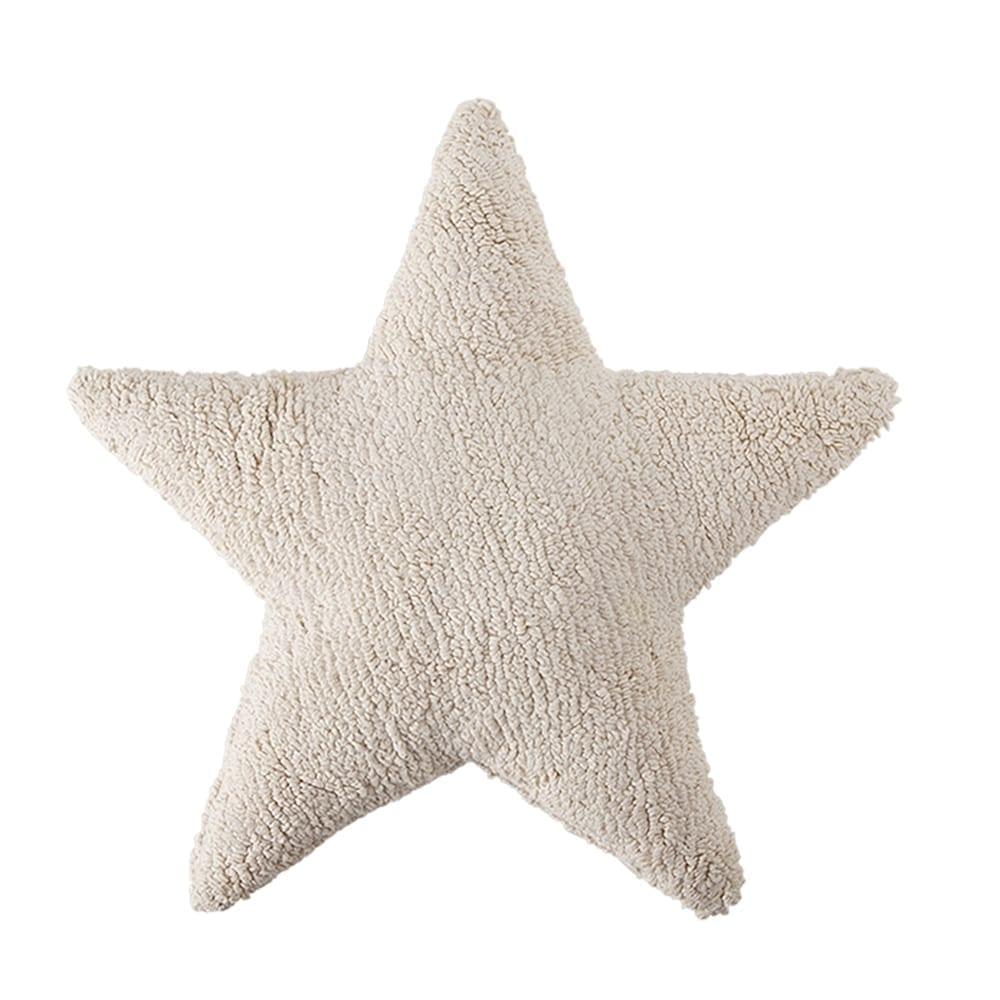 Lorena Canals - Star Cushion - Naturel - 54 x 54 cm