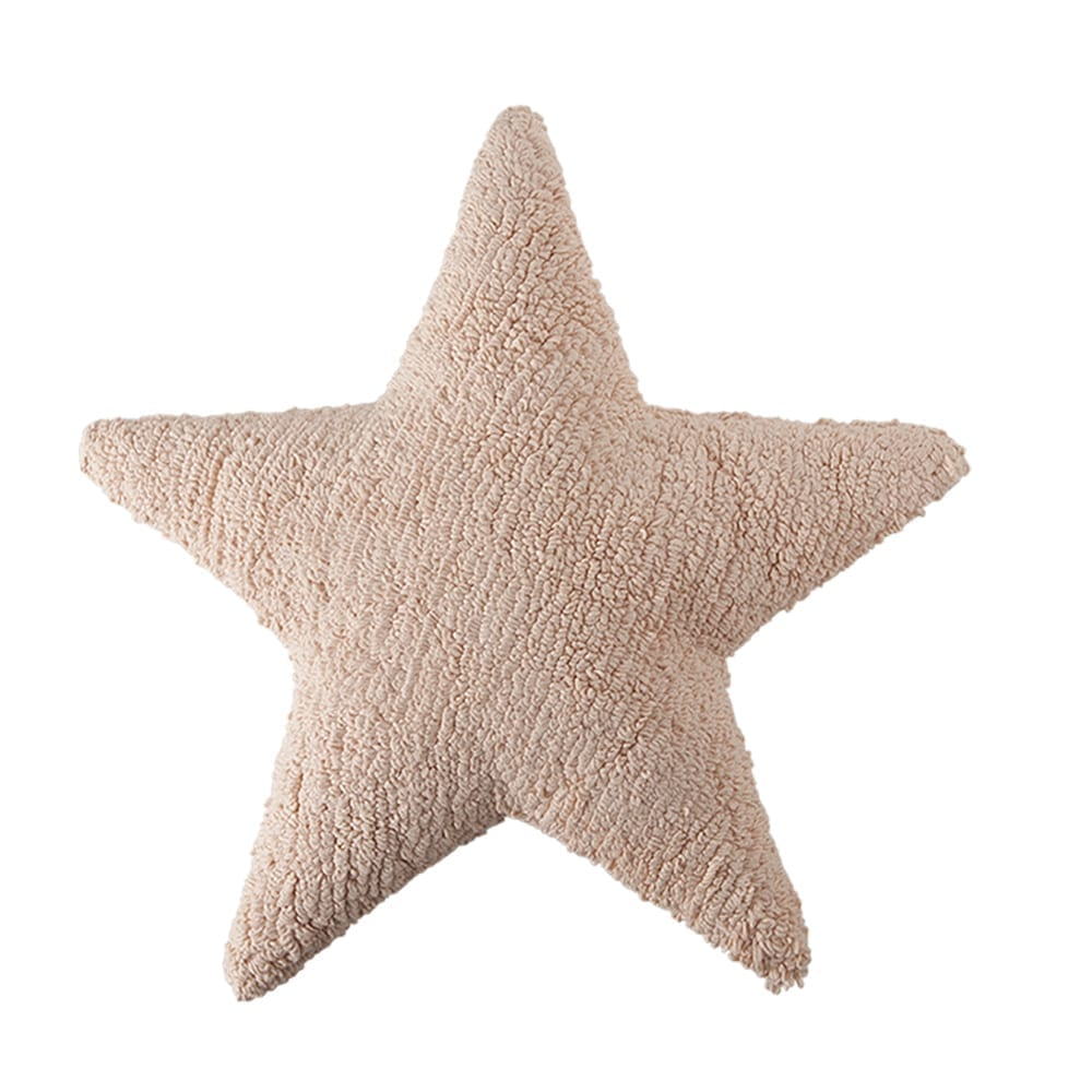 Lorena Canals - Star Cushion - Nude - 54 x 54 cm