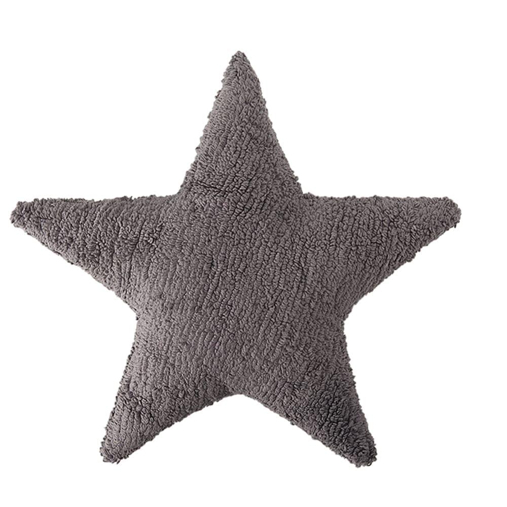 Lorena Canals - Star Cushion - Elephant Grey - 54 x 54 cm